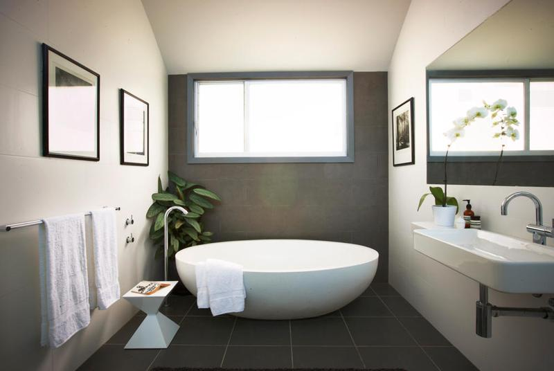 20 ideas for a freestanding bath in the bathroom rilane Freestanding bathtub bathroom design