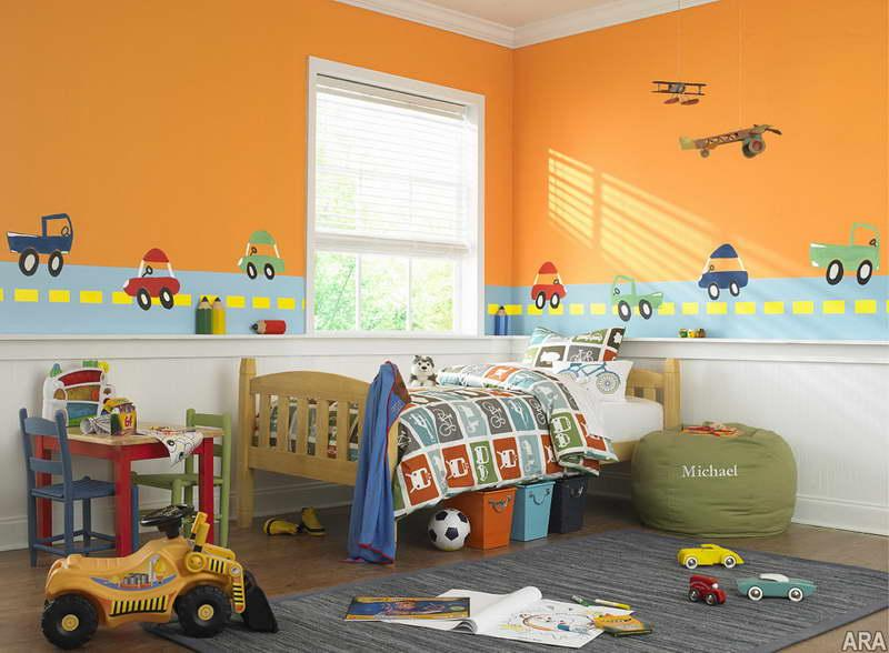 10 vibrant kid s bedroom paint color ideas rilane