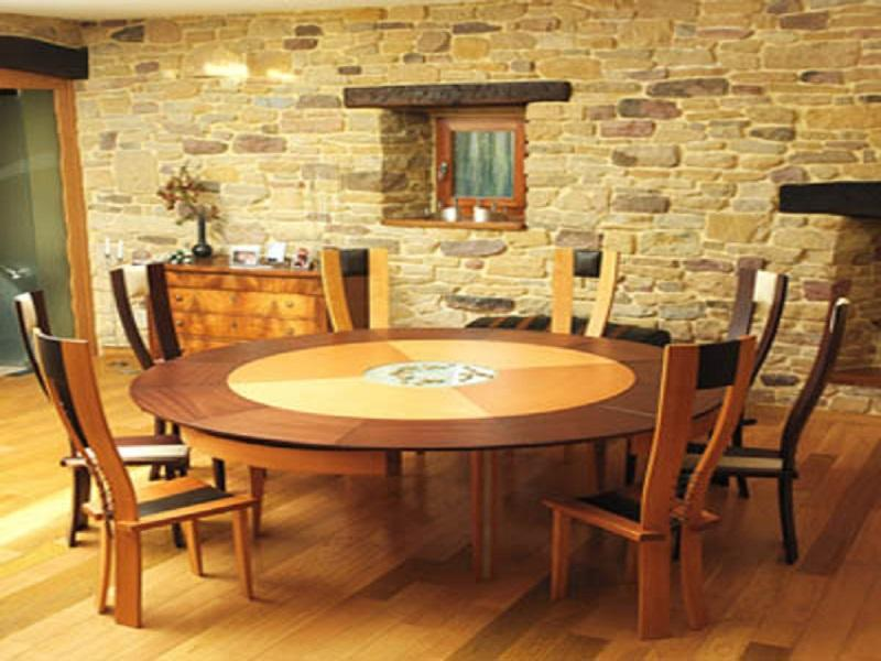 Expandable round dining table – ideas, photos