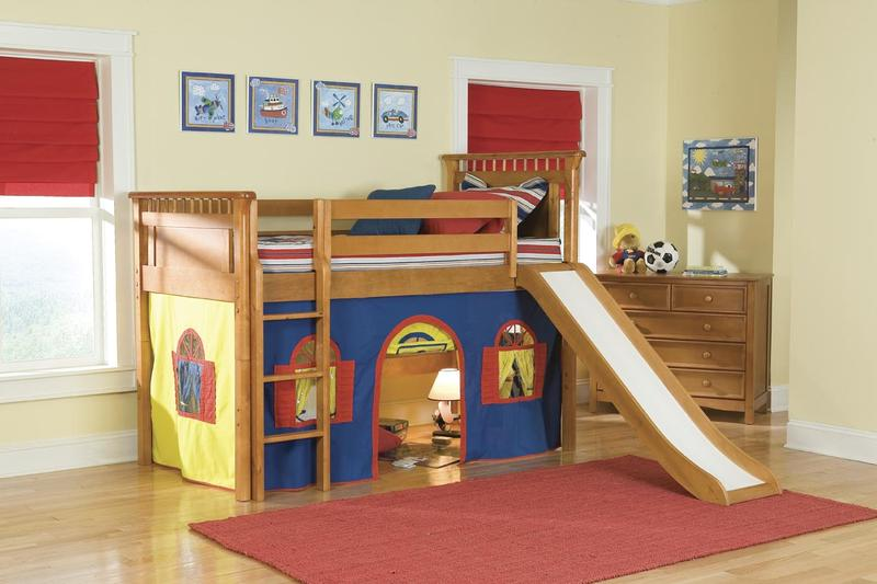 Kids Loft Bed With Slide U2013 Ideas Photos