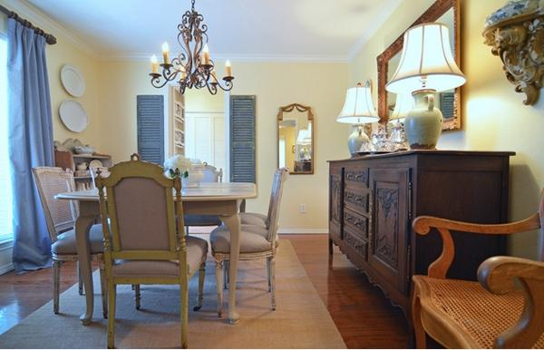 pale yellow dining room. light yellow pale dining room
