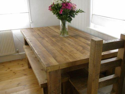 Genial Reclaimed Wood Dining Tables For A Natural Touch In Your Home