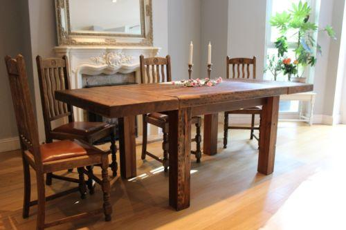 Reclaimed wood dining tables for a natural touch in your home - Rilane