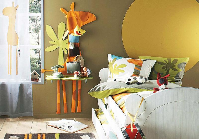 10 Vibrant Kid\'s Bedroom Paint Color Ideas - Rilane