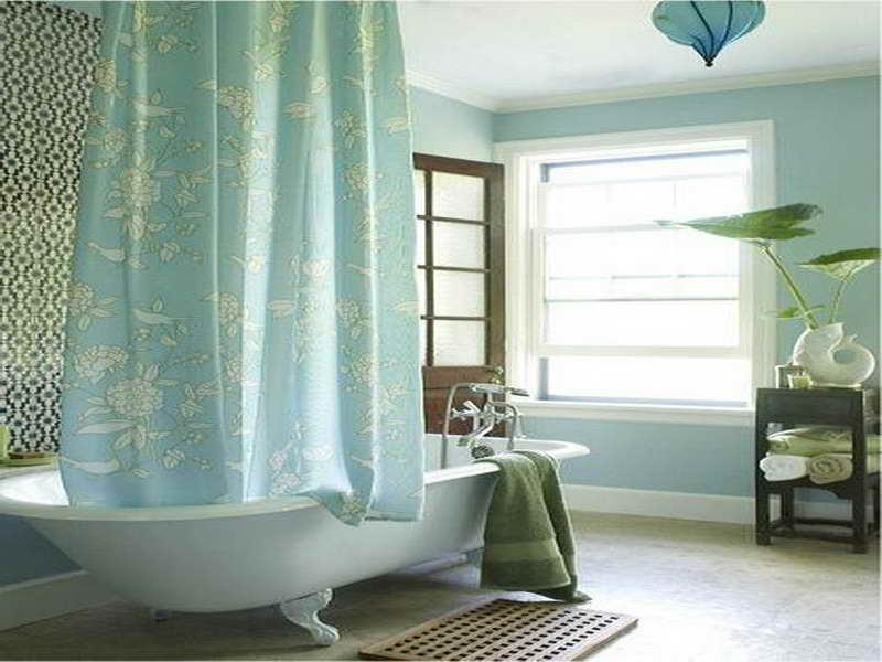 Shower Curtain For Clawfoot Tub Bathroom Ideas