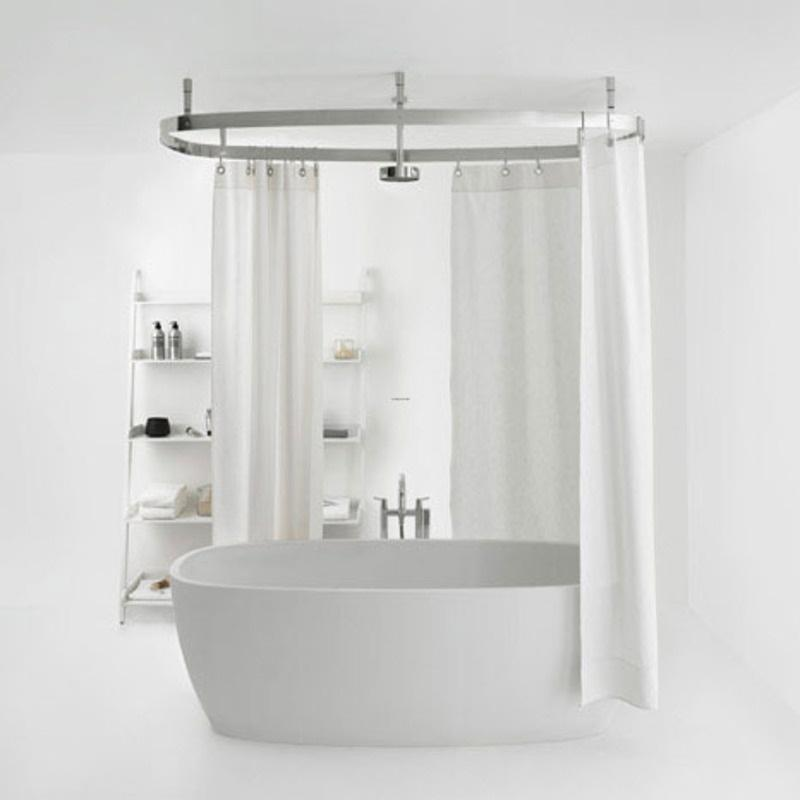 Add Shower To Clawfoot Tub. There are tons of shower curtains available everywhere so don t be afraid  if you re kind choosy when it comes to design style color and size Shower curtain for clawfoot tub Bathroom Ideas Rilane