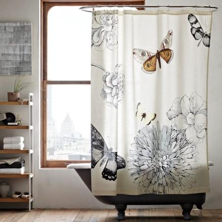 Curtains Ideas claw foot tub shower curtain : Clawfoot Bath Shower Curtains - Best Curtains 2017