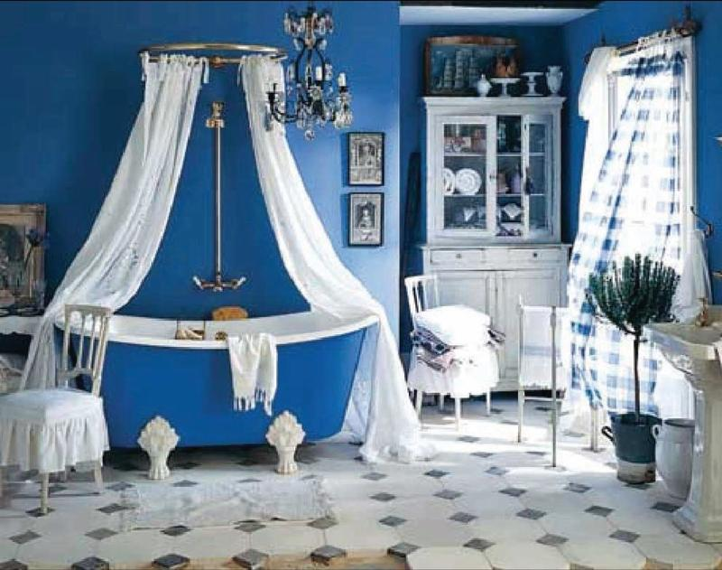 Clawfoot Tub Bathroom Design Ideas ~ Shower curtain for clawfoot tub bathroom ideas rilane