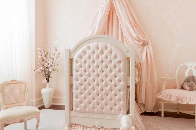 Amazing Baby Pink Princess Bedroom