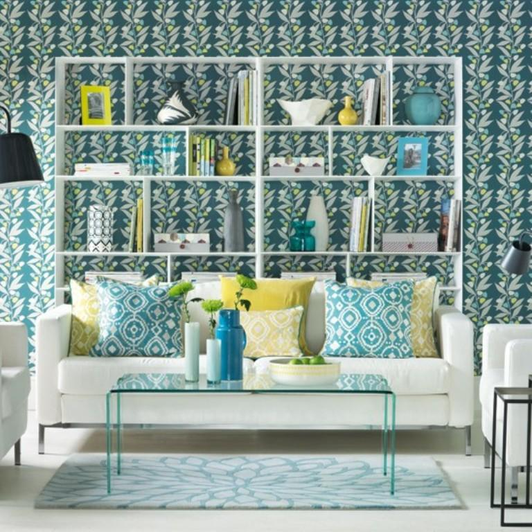 Great Amazing Teal And White Wallpaper Part 19