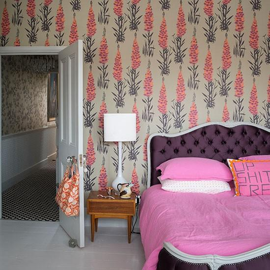 Wallpaper Design Ideas beautiful wallpaper design ideas 76 in front room wallpaper ideas with wallpaper design ideas Beige And Pink Floral Wallpaper