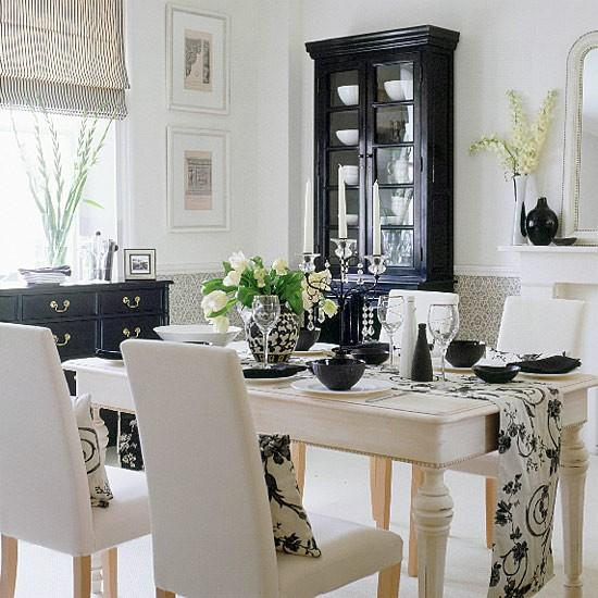 Monochromatic Room: 15 Contemporary Monochromatic Dining Room Designs