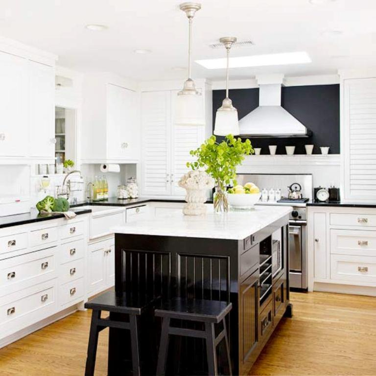 Black And White Traditional Kitchen 20 traditional kitchen design ideas - rilane