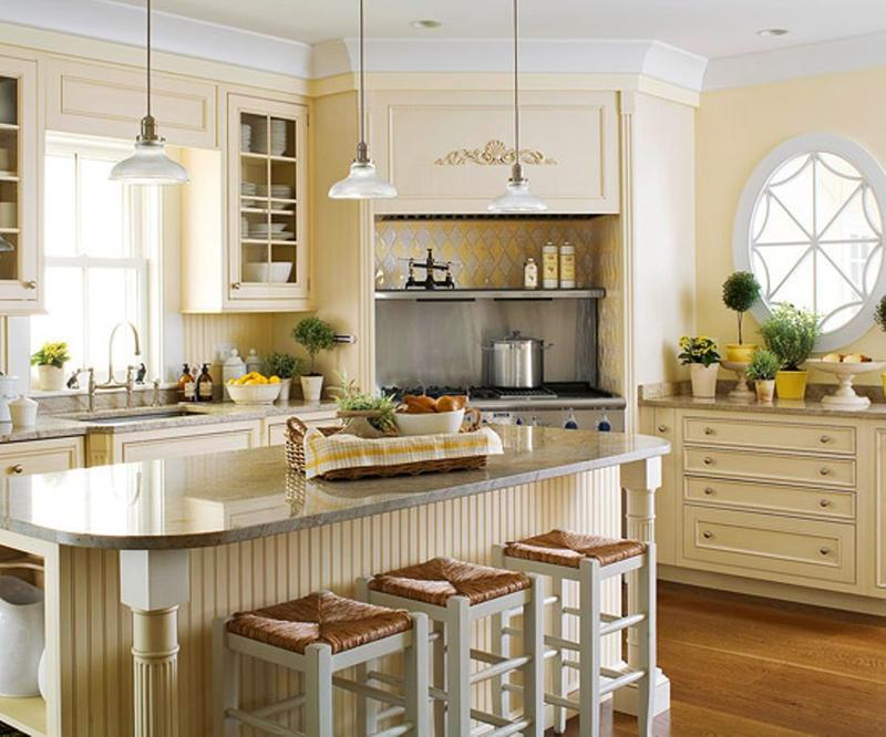 kitchen design ideas white cabinets. Casual Creamy Kitchen 20 Traditional Kitchen Design Ideas  Rilane