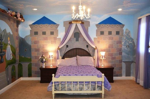 Cinderella Themed Bedroom For Girls