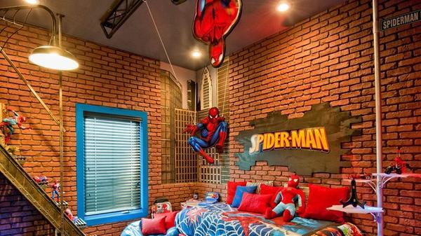 10 Cool Superhero Inspired Bedrooms for Boys - Rilane