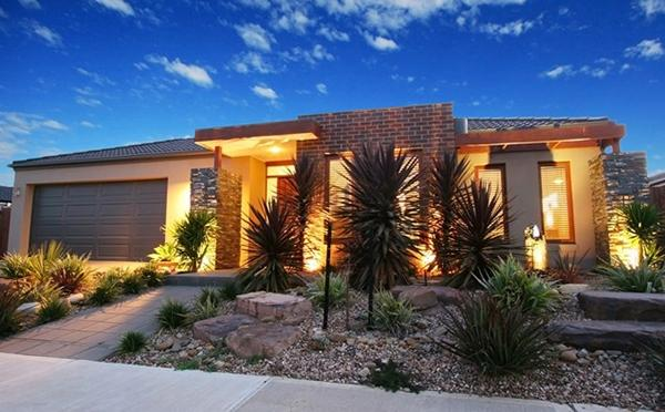desert inspired front yard design - Yard Design Ideas