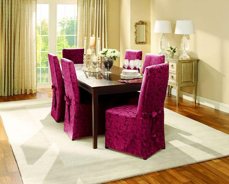 round back dining room chair covers. Dining room chair slipcovers  photos inspiration Rilane
