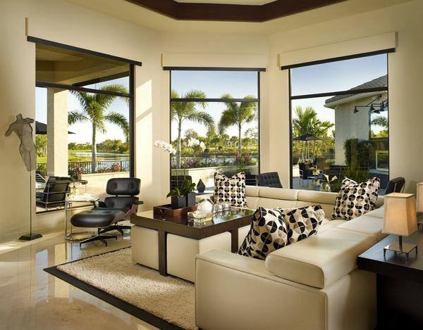 Extravagante wohnzimmer interieur ideen for Couchtisch extravagant