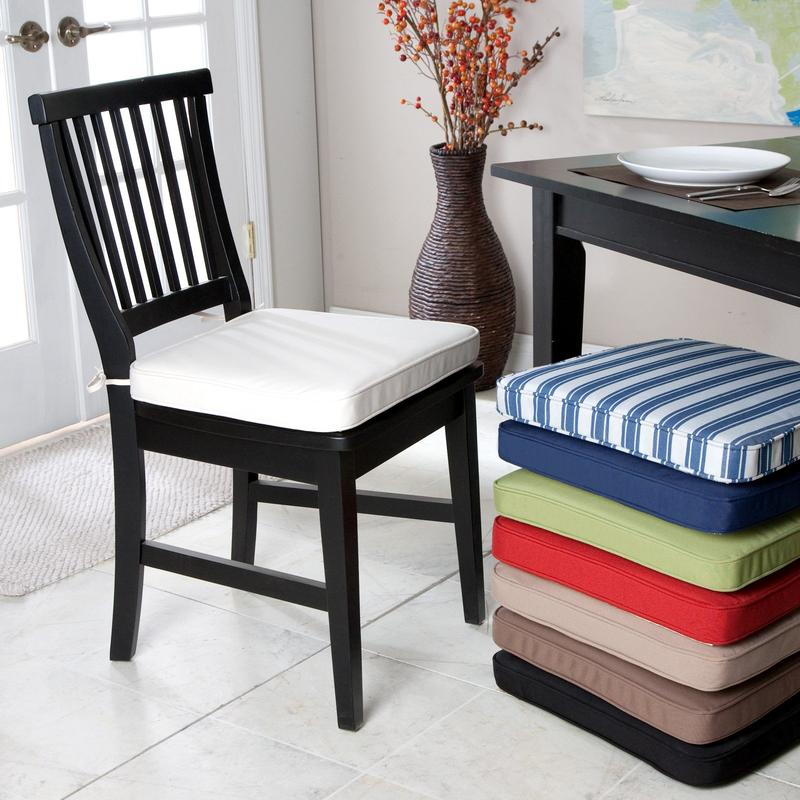 kitchen chair cushions inspiration photo rilane. Black Bedroom Furniture Sets. Home Design Ideas