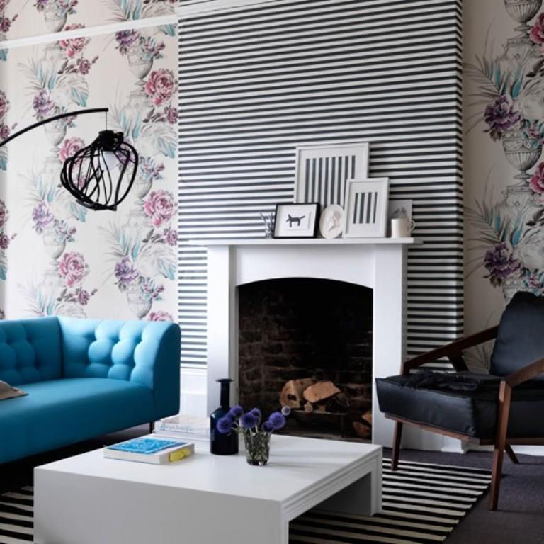 living room wallpaper design | top-tuto