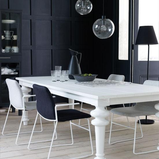 15 Contemporary Monochromatic Dining Room Designs