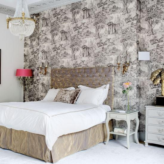 Wallpaper Design For Bedroom: 20 Magnificent Bedroom Wallpaper Design Ideas