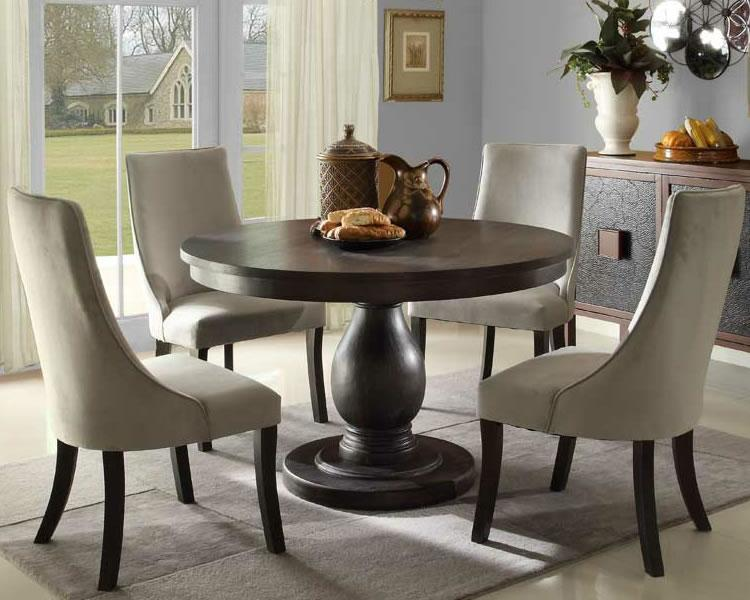 Round pedestal dining table ideas inspiration
