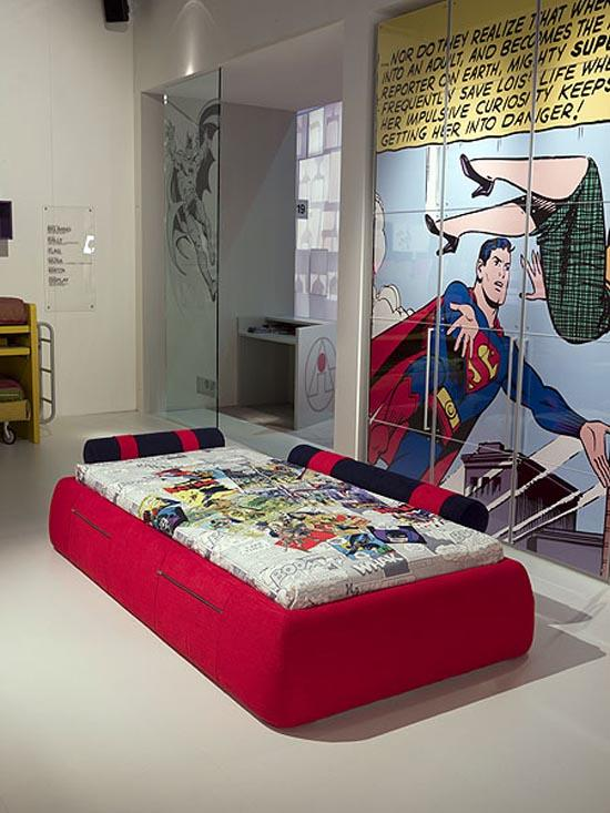 10 cool superhero inspired bedrooms for boys - rilane