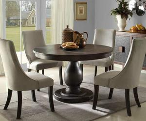 Round pedestal dining table – ideas, inspiration