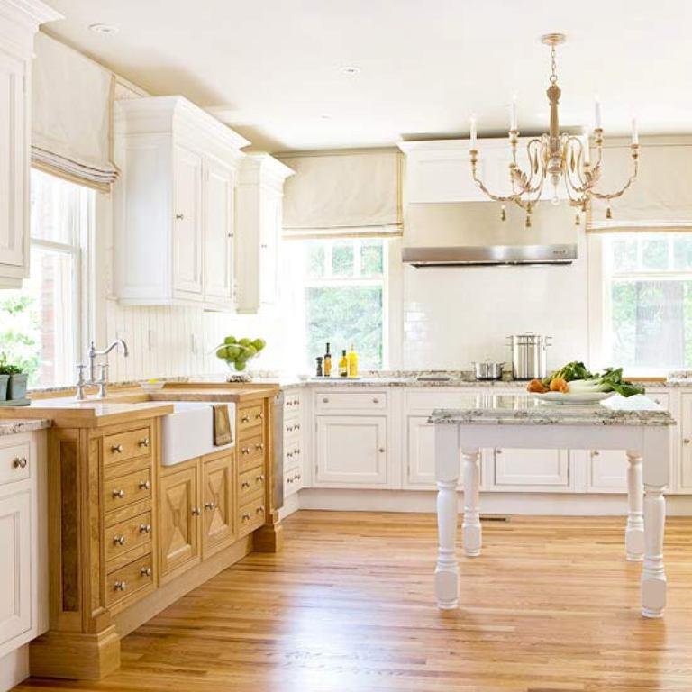 Natural Pine Kitchen Cabinets: 20 Traditional Kitchen Design Ideas