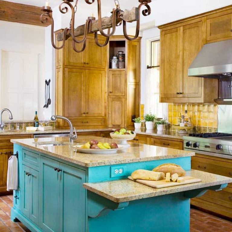 Kitchen Iland Chesterwood Colour Combination: 20 Traditional Kitchen Design Ideas