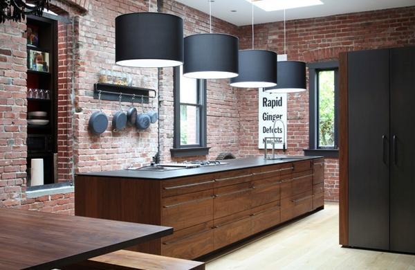 urban kitchen wall