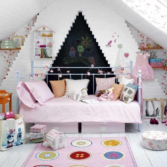 Vintage princess bedroom