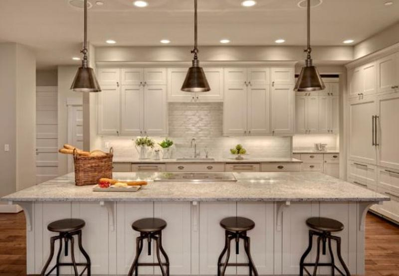 Beautiful Kitchen Ceiling Light Design Ideas - Rilane