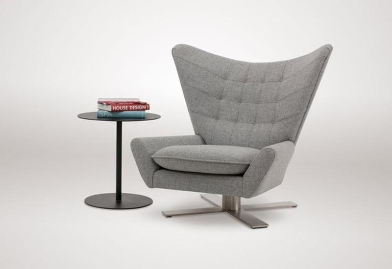 Amazing Upholstered Swivel Chair