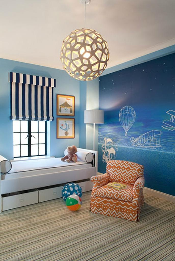 Artistic Toddler Bedroom