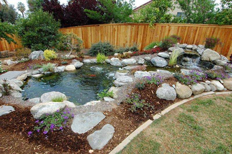 amazing backyard pond design ideas rilane rh rilane com
