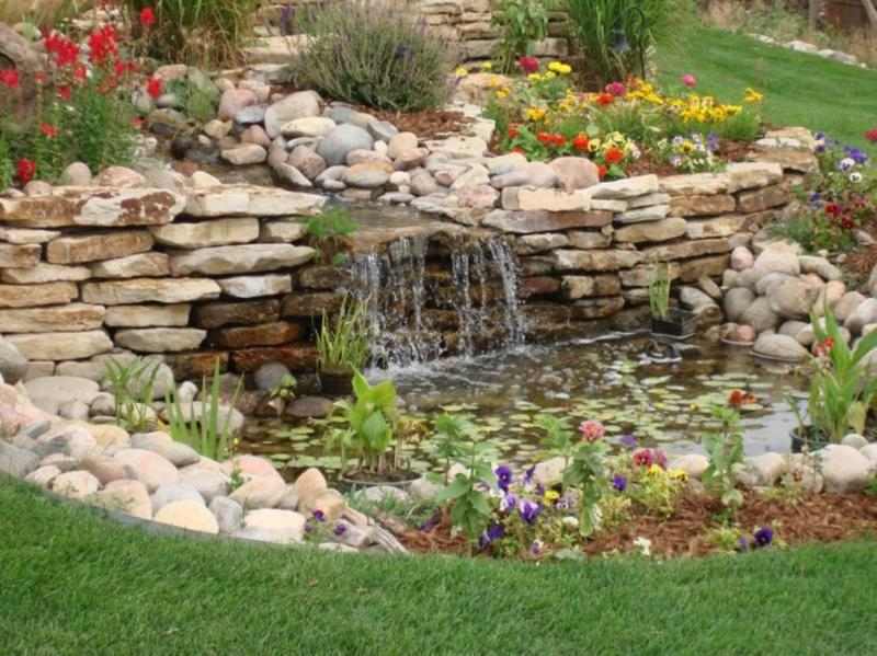 Backyard Waterfalls Ideas 7 backyard waterfall ideas Beautiful Backyard Waterfal