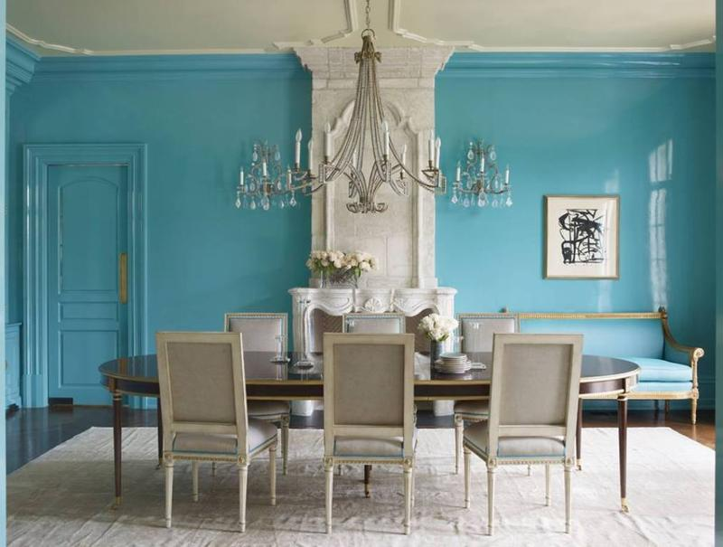 blue dining room. Beautiful Blue Dining Room 15 Radiant Design Ideas  Rilane
