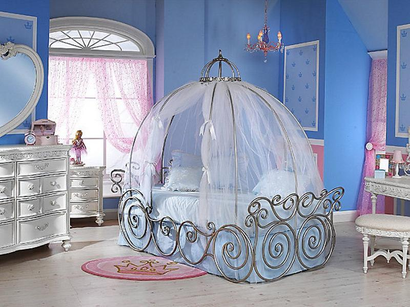 Dreamy Cinderella Carriage Bed Designs For Girls Rilane