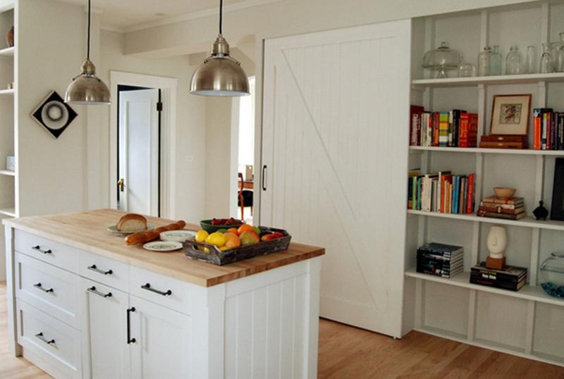 20 Smart White Kitchen Pantry Cabinets - Rilane