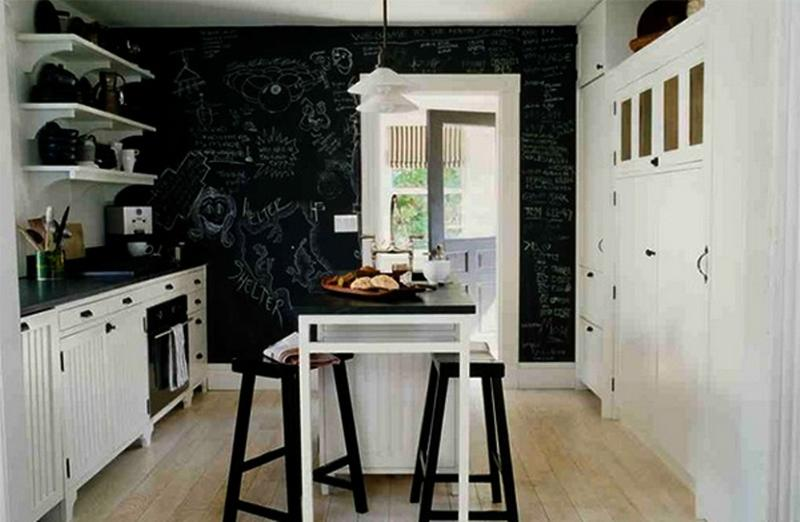 black and white industrial kitchen - Industrial Kitchen