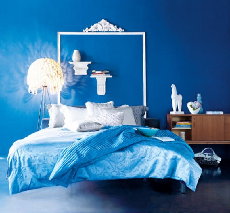 Vibrant Blue Bedroom Design Ideas Rilane