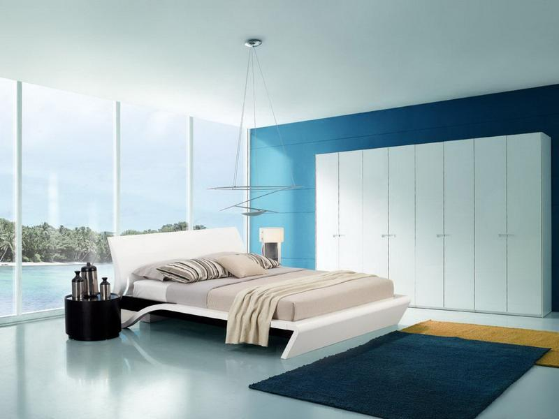 design#481481: blue and white bedroom design – 1000 ideas about