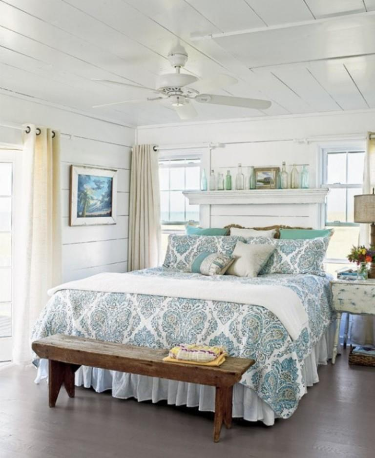 Charming Beach Themed Bedroom