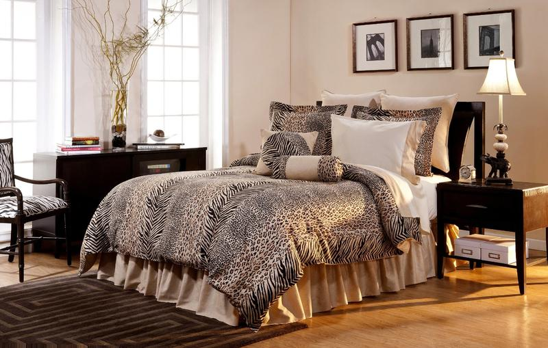 Cheetah Bedroom - Home Design Ideas and Pictures