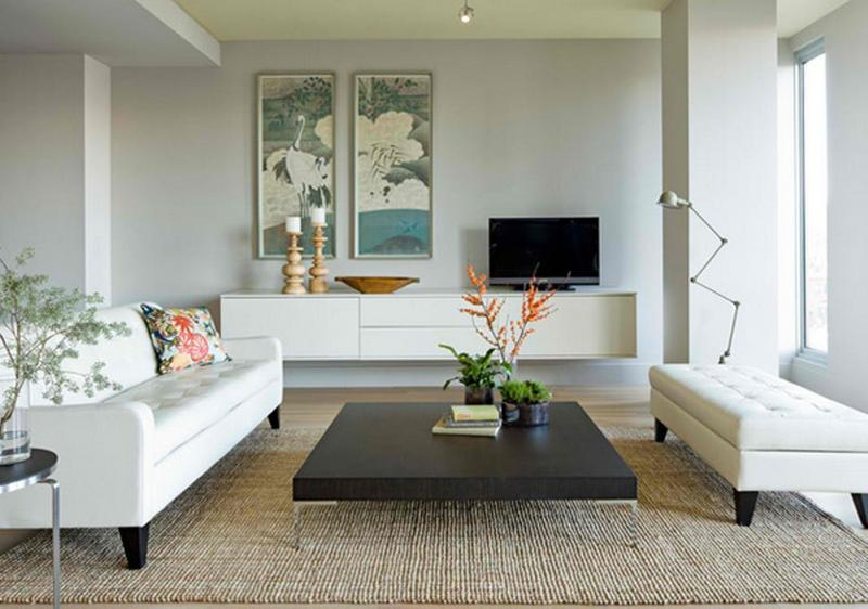 Chic Minimalist Living Room. Image Source: Jessica Herlgerson Interior  Design
