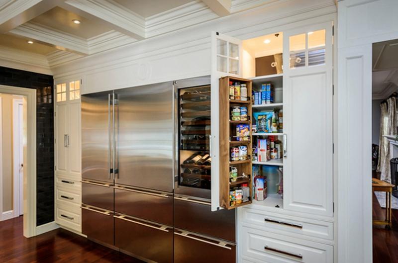 Classic White Kitchen Pantry