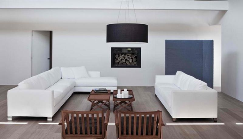 15 minimalist living room design ideas rilane for White minimalist living room